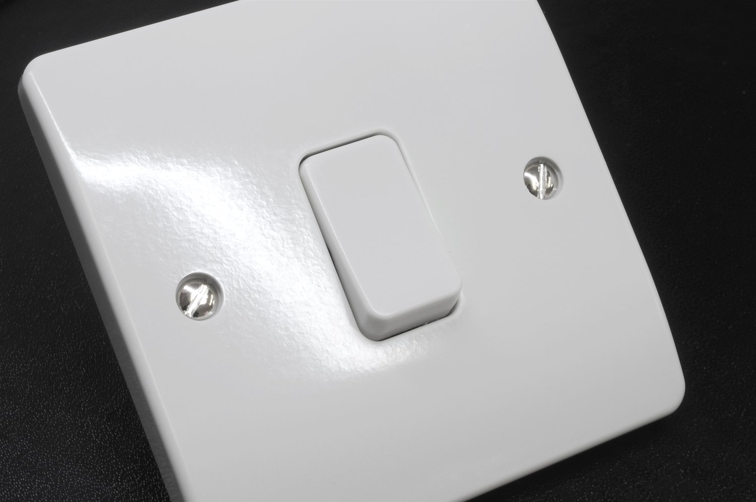 Front Of An Old Mk Single Gang Light Switch