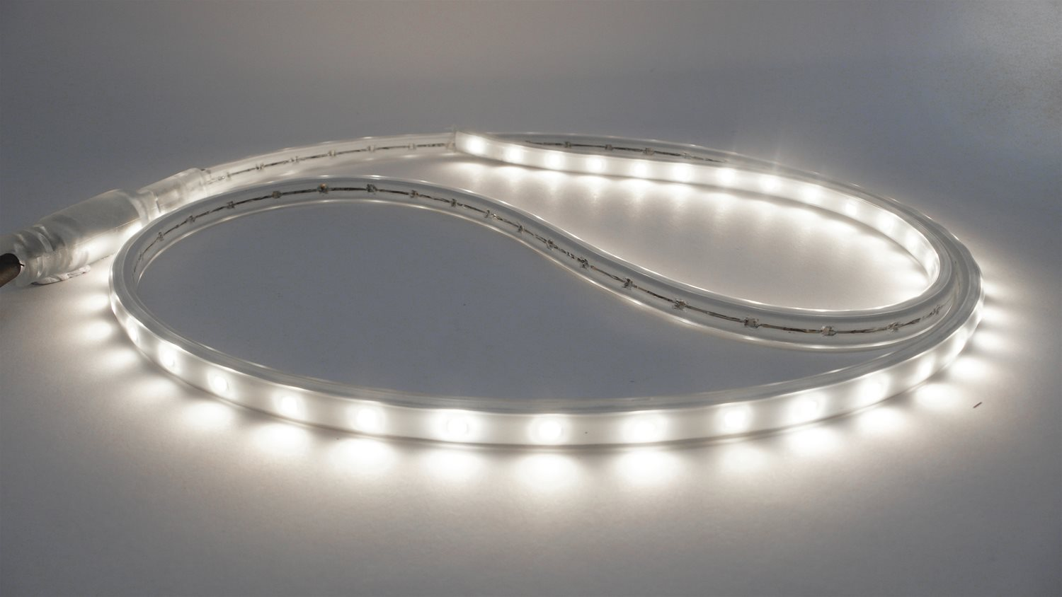 LED Tape 240V Fixing Clips Clear
