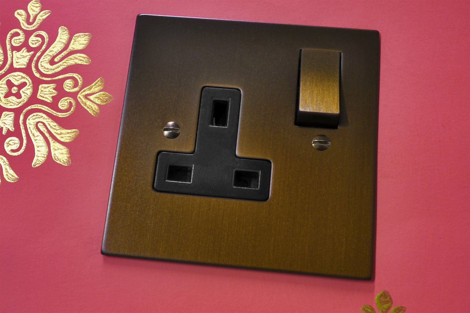 Dolly Switch DP Module Antique Bronze Example