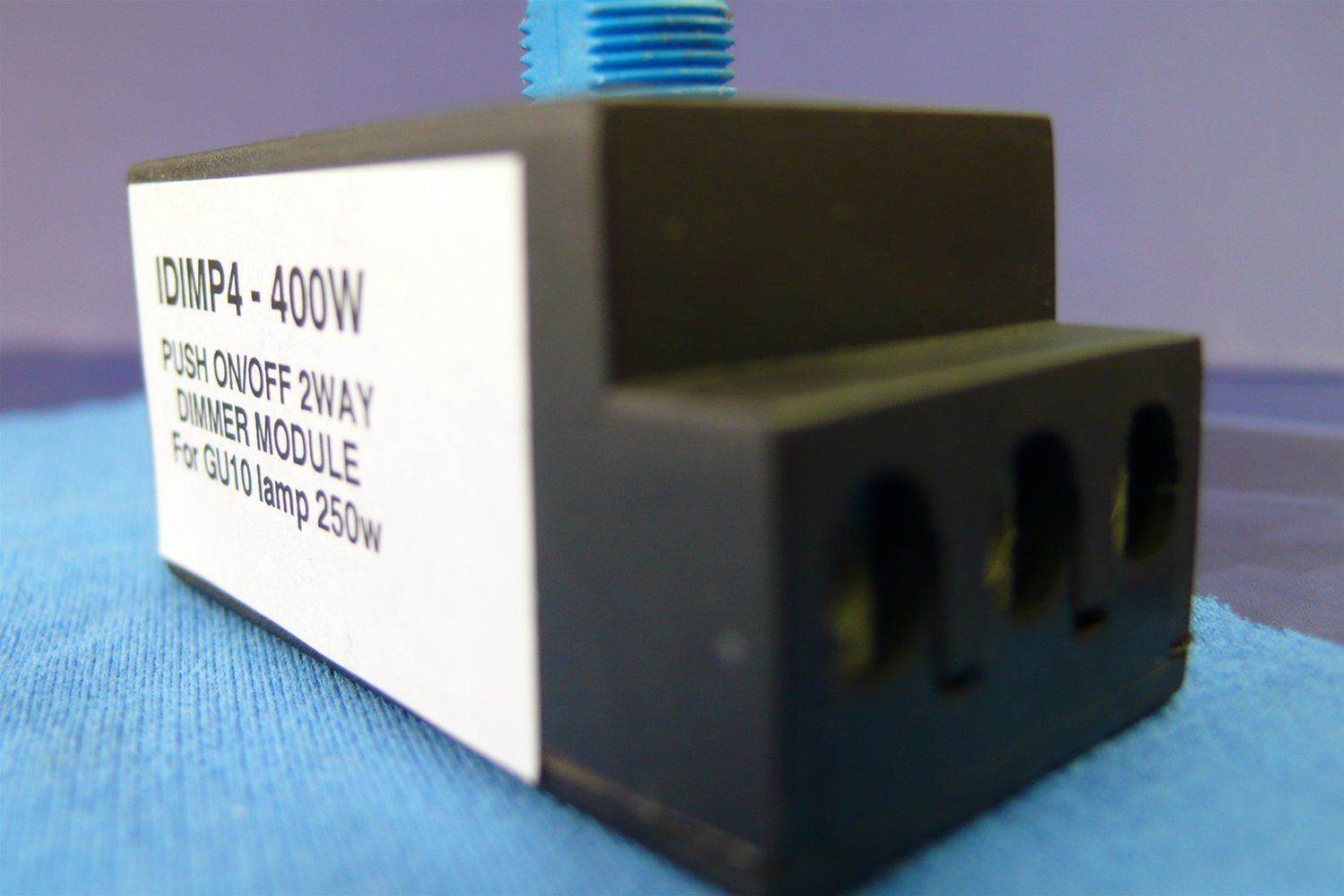 Resistive Load 2 Way Dimmer Module Black 400W Example