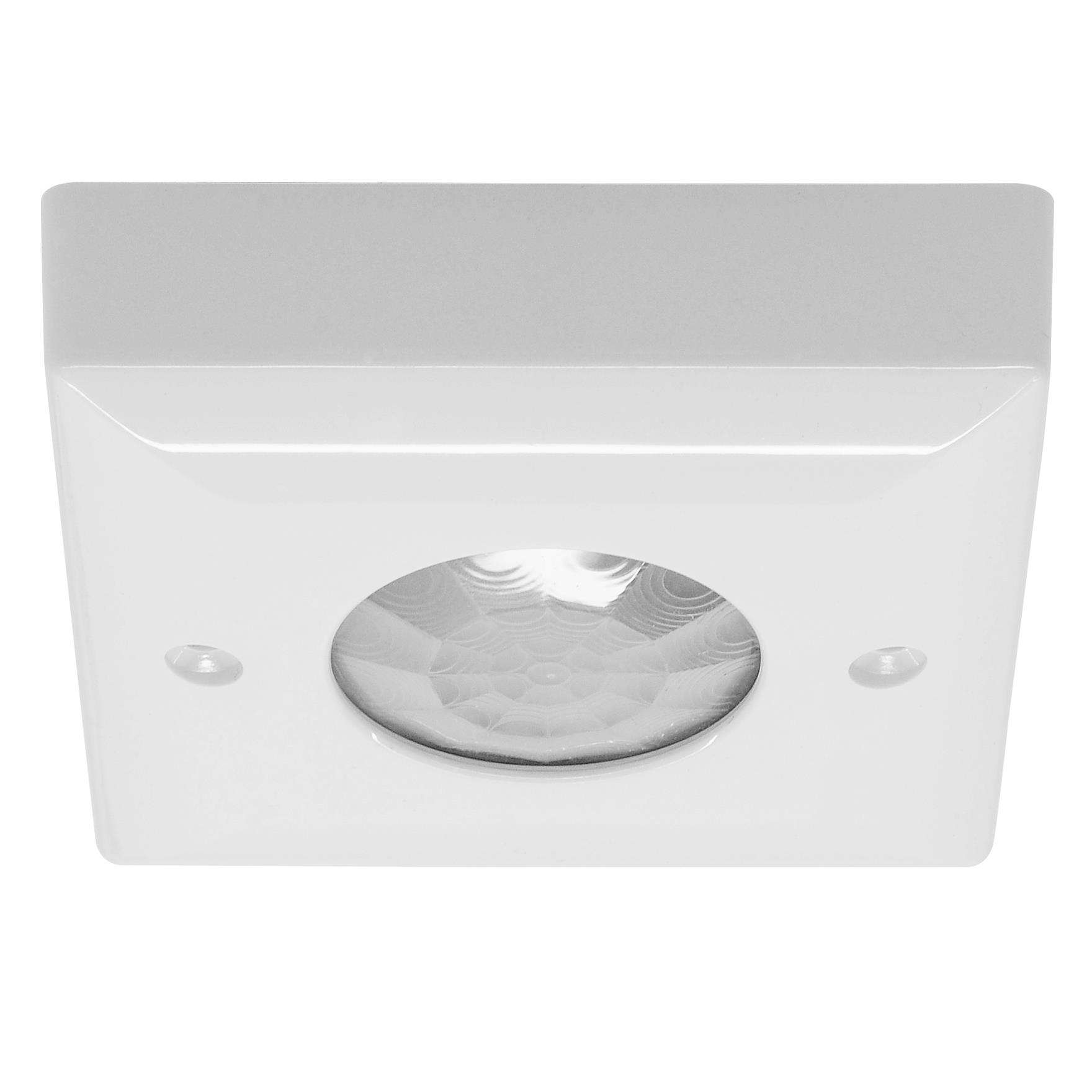 Ceiling Surface Mounted Pir Switch White Plastic Mr
