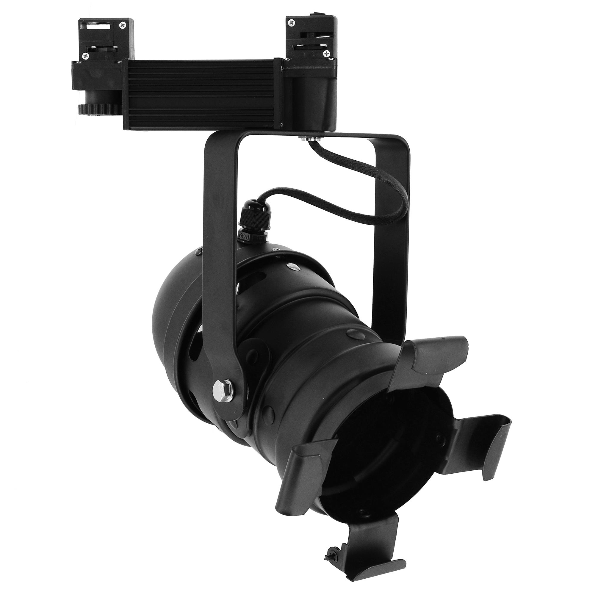 Black Track Lighting Uk: AR111 Theatre Track 240V 100W Black