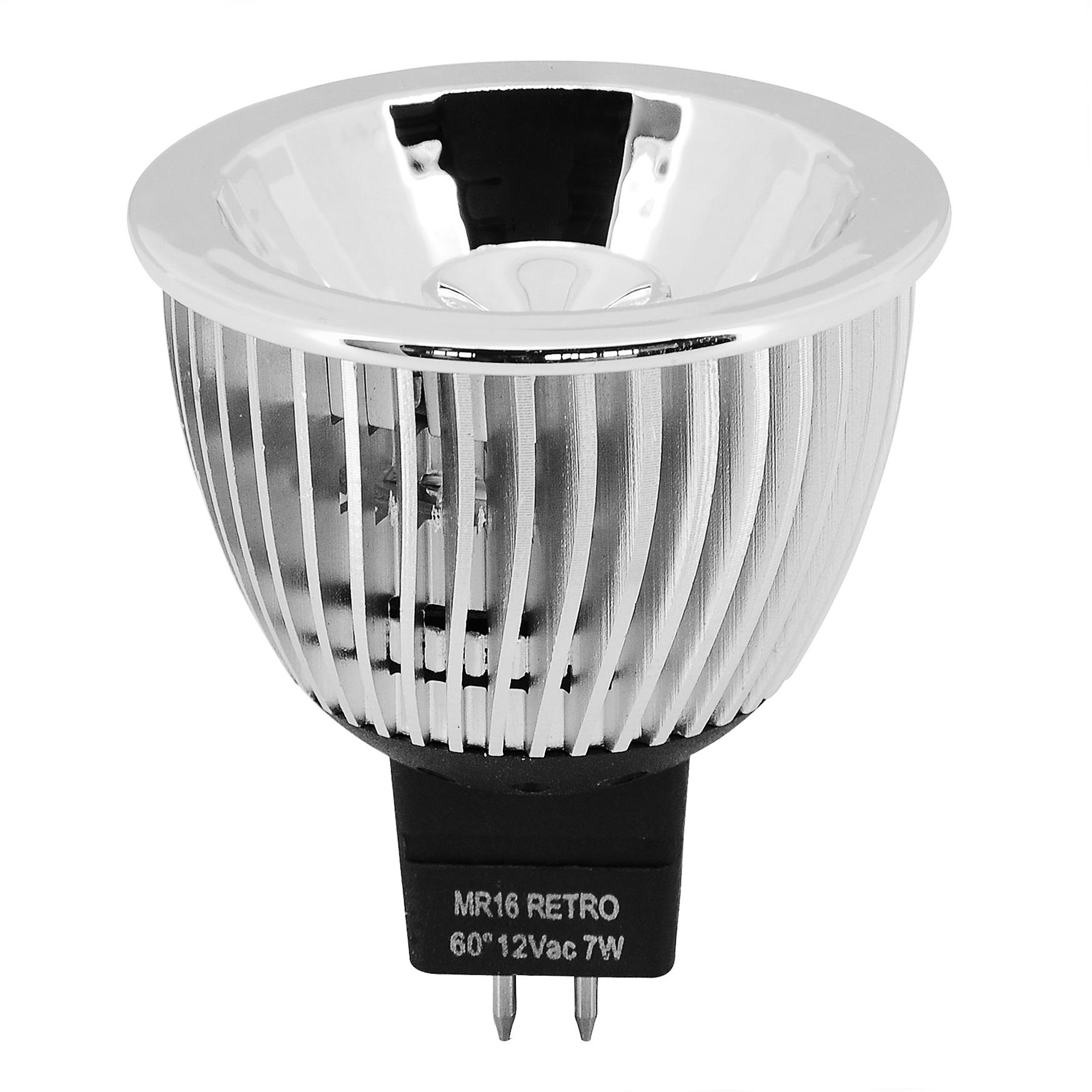 Mr16 Dimmable Led Uk: MR16 LED 7W 630lm 12V (=75W) Non Dimmable 60° 4000K Cool