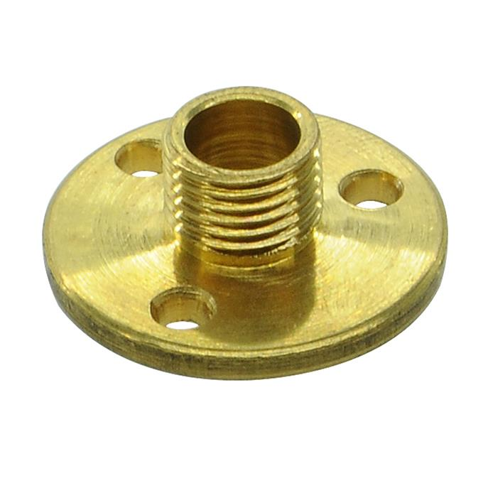 Flange Plate Brass 8mm Mr Resistor Lighting