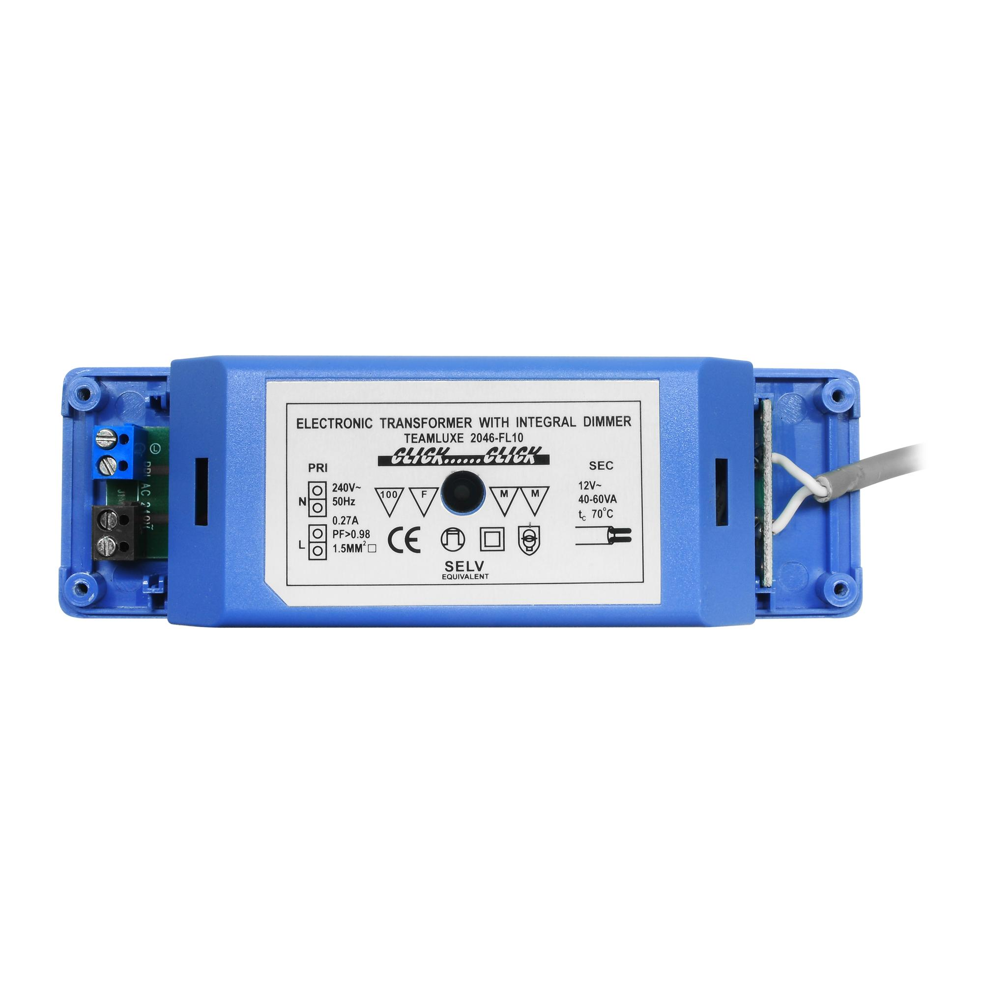 Electronic Transformer With Integral Dimmer Blue 50w Mr