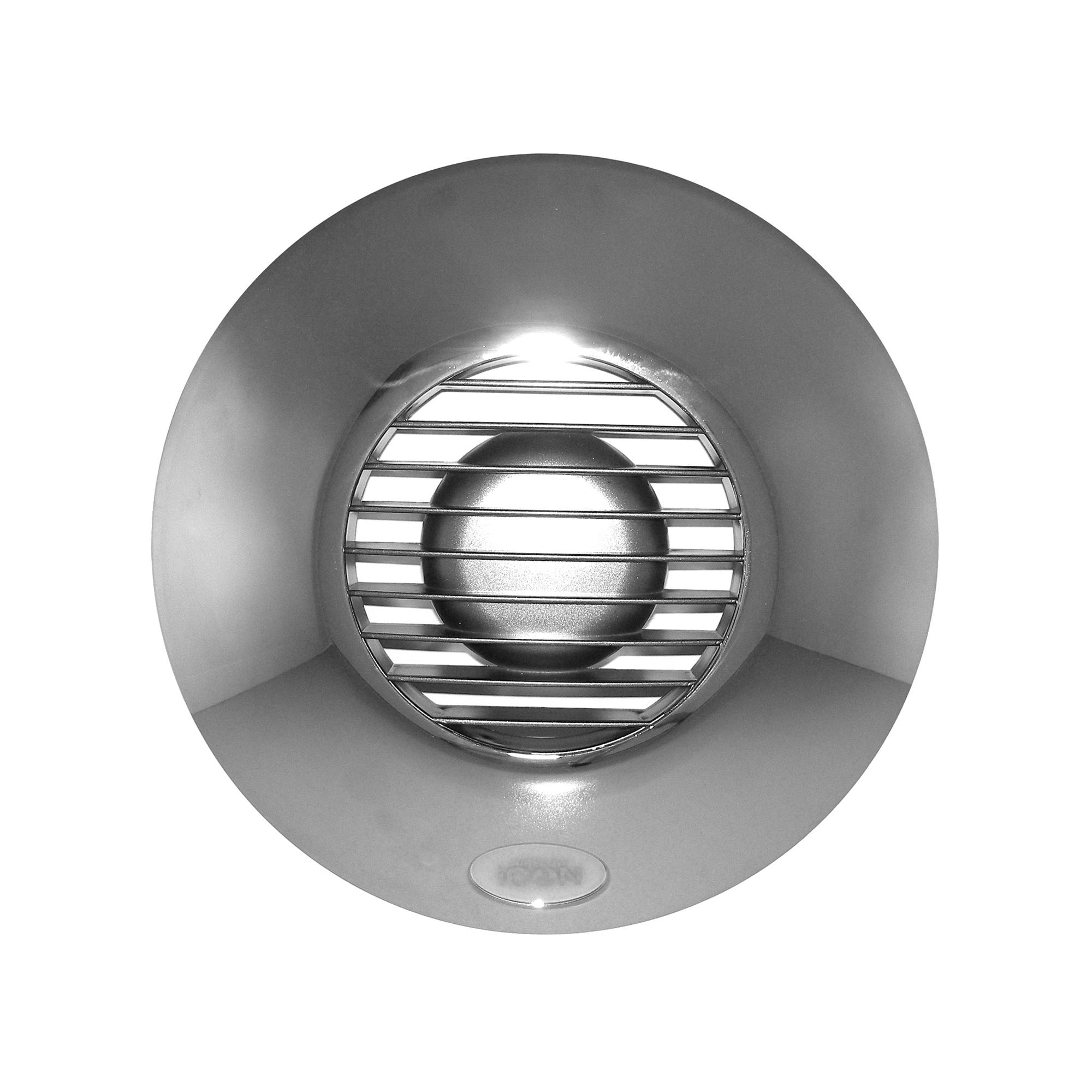 Chrome Bathroom Extractor Fan Cover : Icon cover mm chrome