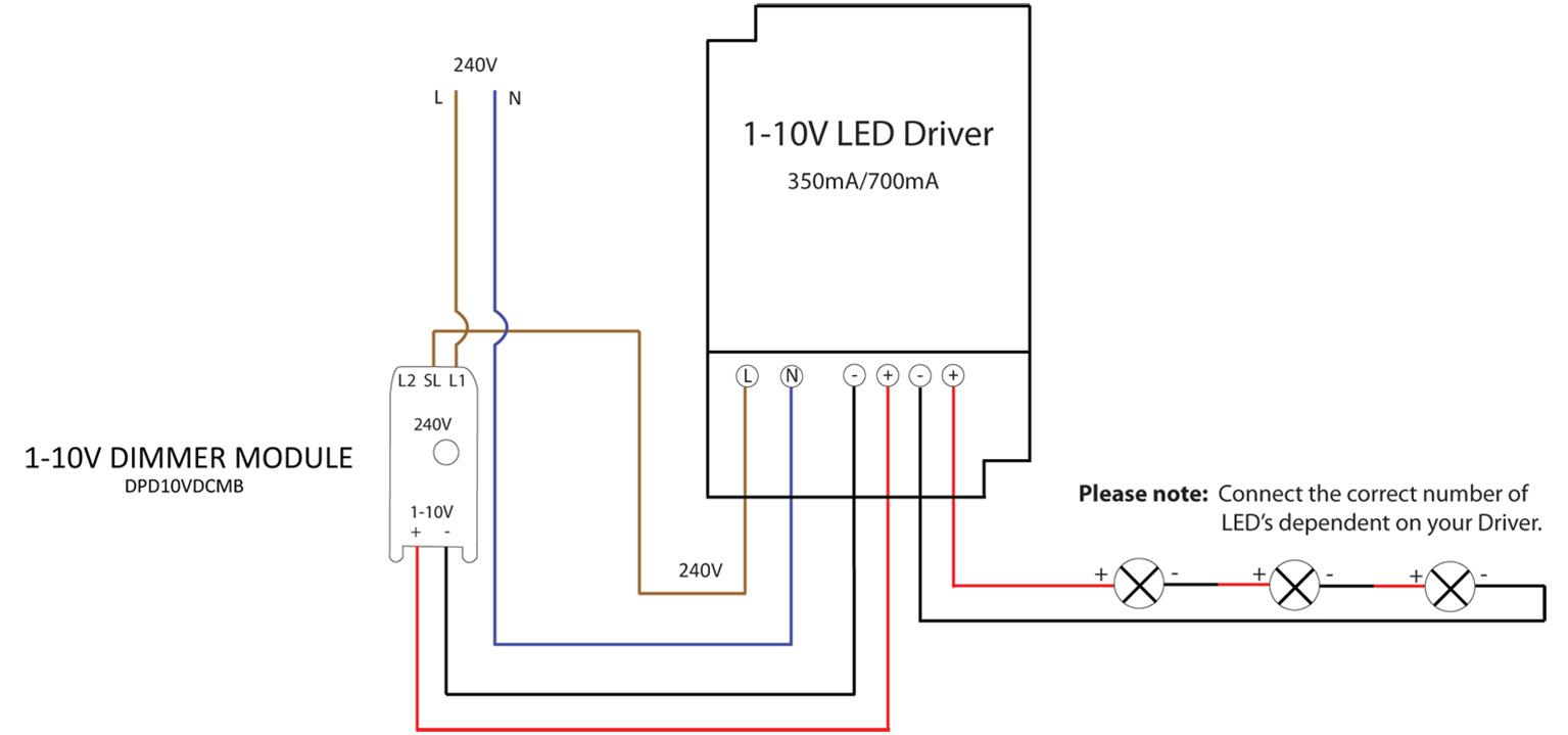 0 10v Dimming Led Wiringon 12v Light Switch Wiring Diagram