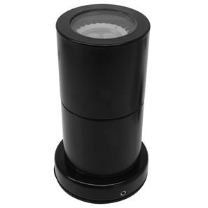 Smooth Fixed Down or Up Lights 240V Black 50W