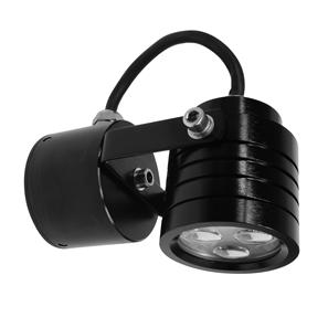 Battlestar Wall Light 240V 3W Black 3000K Warm White