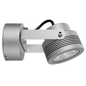 Battlestar 2.0 Wall Light 240V 6W Silver 3000K Warm White
