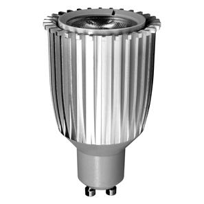 GU10 LED 7W 370lm (=50W) Dimmable 240V 45° Green