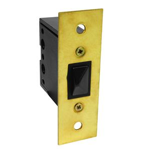 Door Switch Brass 2A