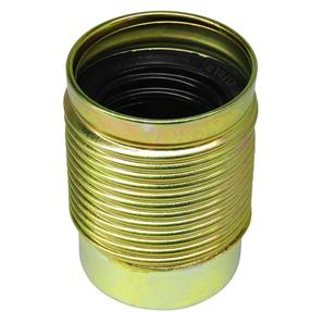 Lampholder Threaded Skirt Stained Brass ES / E27