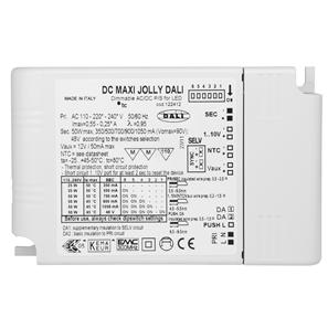 Dali Dimmable LED Driver (Constant Current & Constant Voltage) White 50W