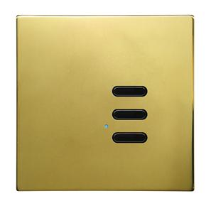 Wise Switch 3 Channel Polished Brass 3V