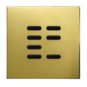 Wise Switch 7 Channel Polished Brass 3V