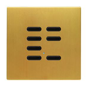 Wise Switch 7 Channel Satin Brass 3V
