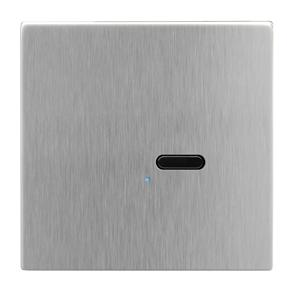 Wise Switch 1 Channel Satin Stainless Steel 3V