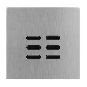 Wise Switch 6 Channel Satin Stainless Steel 3V
