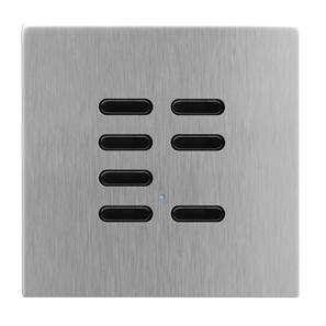 Wise Switch 7 Channel Satin Stainless Steel 3V