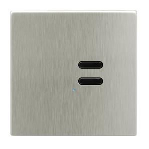 Wise Switch 2 Channel Satin Nickel 3V