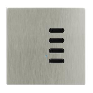 Wise Switch 4 Channel Satin Nickel 3V