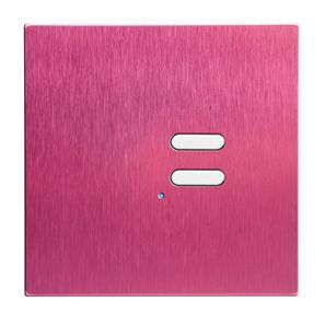 Wise Switch 2 Channel Pink Aluminium 3V