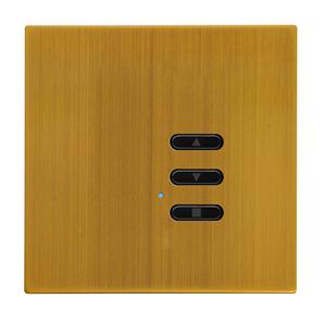 Wise Fusion Dimmer Slave Wireless 1 Gang Antique Brass 3V