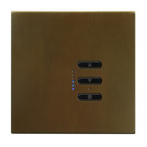 Wise Fusion Dimmer Master Wired 1 Gang 240V Antique Bronze 450W