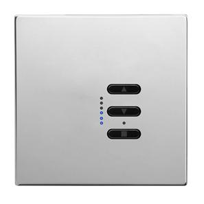 Wise Fusion Dimmer Master Wired 1 Gang 240V Polished Stainless Steel 450W