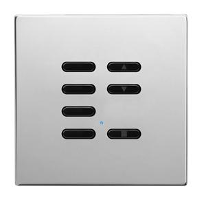 Wise Fusion Slave Wireless 7 Channel Polished Stainless Steel 3V