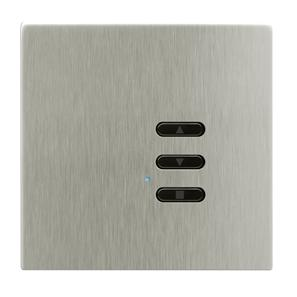 Wise Fusion Dimmer Slave Wireless 1 Gang Satin Nickel 3V