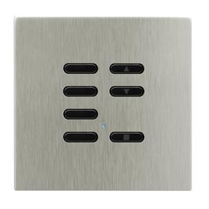 Wise Fusion Slave Wireless 7 Channel Satin Nickel 3V