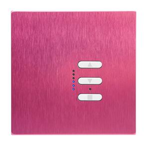 Wise Fusion Dimmer Master Wired 1 Gang 240V Pink Aluminium 450W