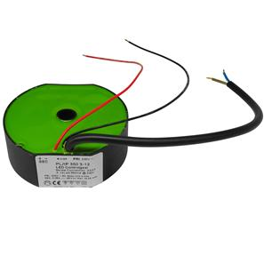 LED Constant Current Driver Black 3W - 12W 350mA