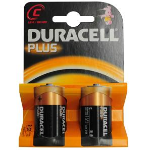 Duracell Batteries C MN1400 2 Pack