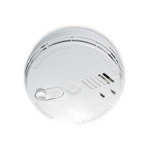 Ionisation Smoke Alarm  240V (9V Battery Back-up) White