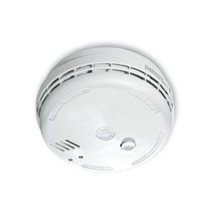 Optical Smoke Alarm 240V (9V Battery Back-up) 240V (Rechargeable Battery Back-up) White
