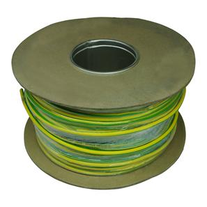 PVC Single Core 100M 6.0mm� Green / Yellow