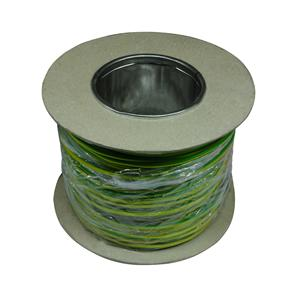 PVC Single Core 100M 1.5mm� Green / Yellow