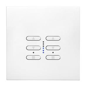 Wise Fusion Dimmer Master Wired 2 Gang 240V White 2 x 250W