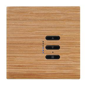 Wise Fusion Dimmer Master Wired 1 Gang 240V Oak 450W