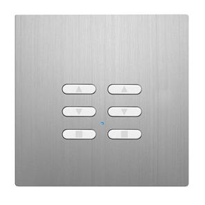 Wise Fusion Dimmer Slave Wireless 2 Gang Aluminium 3V