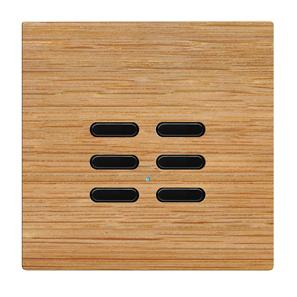 Wise Switch 6 Channel Oak 3V