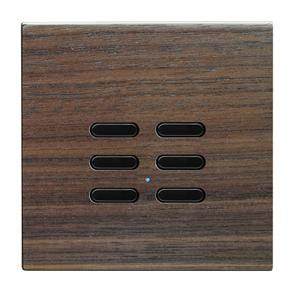 Wise Switch 6 Channel Walnut 3V