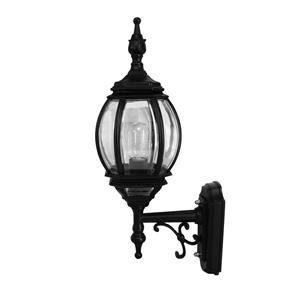 Lantern Wall Up 240V 100W Black