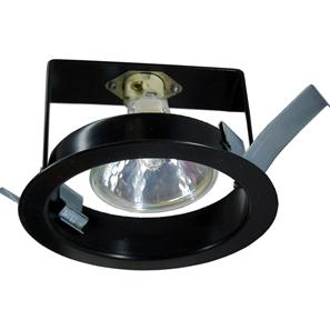 Basic Recessed Body 12V 50W Black