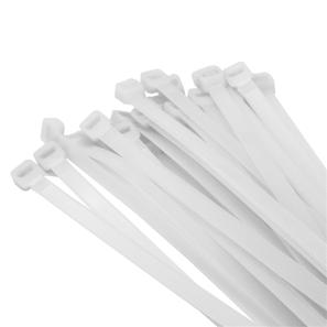 100 Cable Ties White 370mm