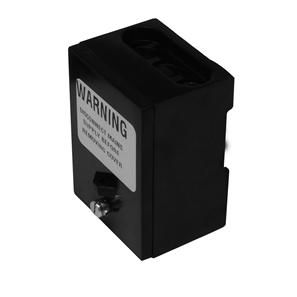 Insulated Connector Box Single Pole Black 60A