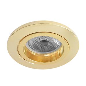Contract Fixed RGB Polished Brass 4W